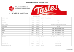 Katılımcı listesi ()