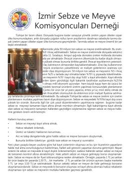 İzmir Sebze ve Meyve Komisyoncuları Derneği