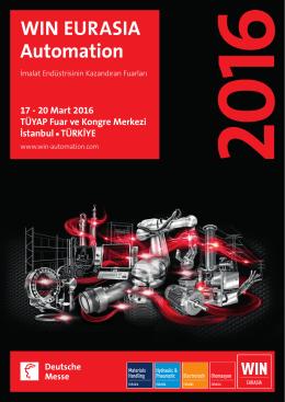 Tanıtım Broşürü Devamı - WIN EURASIA Automation