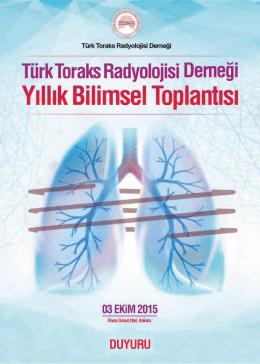 Türk Toraks Radyolojisi Derneği Yıllık Bilimsel Toplantısı