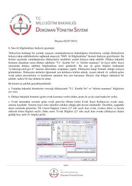 Duyuru (02/07/2015) - Edremit İlçe Milli Eğitim Müdürlüğü