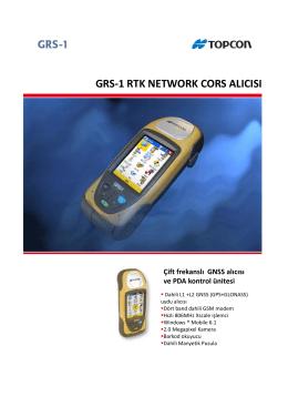 grs-1 rtk network cors alıcısı