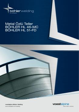 Metal Özlü Teller BÖHLER HL 46-MC BÖHLER HL