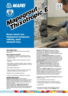 Mapegrout Thixotropic E Mapegrout Thixotropic E