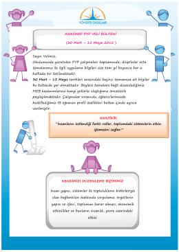 Anasinifi_PYP_Bulteni_16_30_Mart