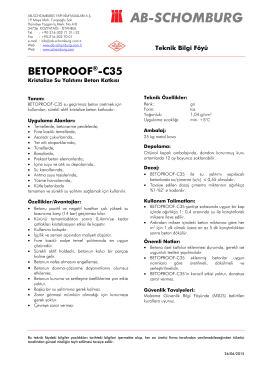BETOPROOF®-C35 - ab