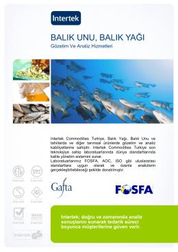 balık unu, balık yağı