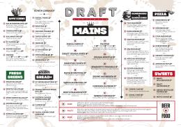 BEER + FOOD - Draft Pub İstanbul