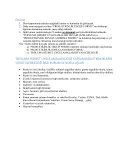 Genel Açıklamalar [ PDF ]