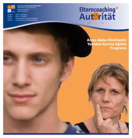 Anne-Baba Otoritesini Yeniden Kurma Eğitim Programı