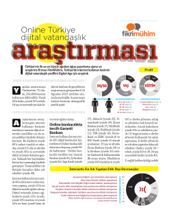 Online Türkiye dijital vatandaşlık