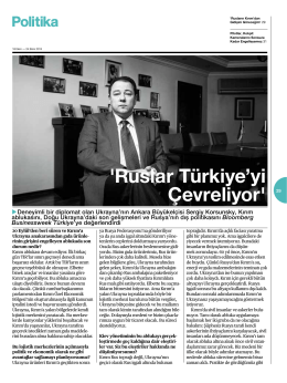 `Ruslar Türkiye`yi Çevreliyor` 29