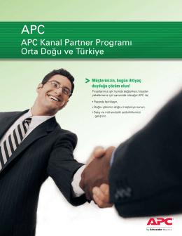 APC Kanal Partner Programı Orta Doğu ve Türkiye