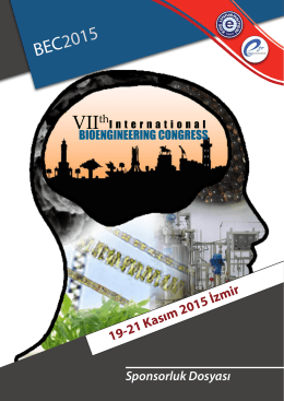 BEC 2015 - VII. Bioengineering Congress