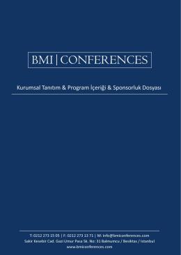 lojistik ve tedarik zinciri yönetimi zirvesi - BMI