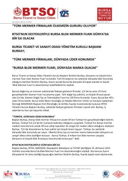türk mermer firmaları ülkemizin gururu oluyor