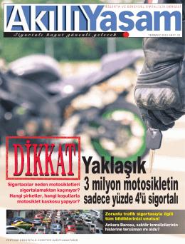 3 milyon motosikletin - Akıllı Yaşam Dergisi