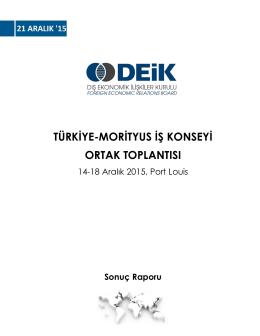 Sonuç Raporu