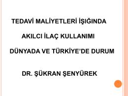 Şükran ŞENYÜREK - 13iuonkolojigunleri.org | 13iuonkolojigunleri.org