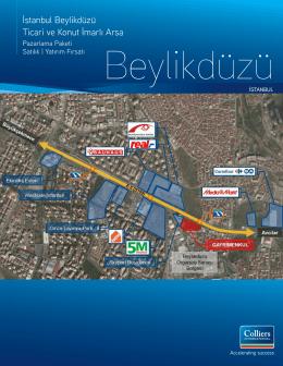 İstanbul Beylikdüzü Ticari ve Konut İmarlı Arsa