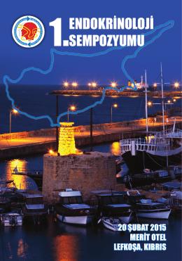 1. endokrinoloji sempozyumu - Türkiye Endokrinoloji Metabolizma