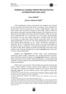 Otto Liman Von Sanders`in Kaleminden T  rkiye`nin H