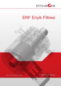 ERF Eriyik Filtresi - Ettlinger Kunststoffmaschinen GmbH
