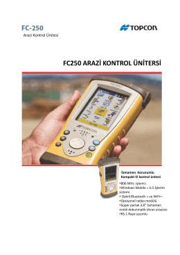 FC250 ARAZİ KONTROL ÜNİTERSİ
