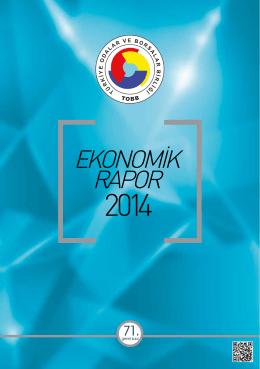 71. Genel Kurul Ekonomik Rapor 2014