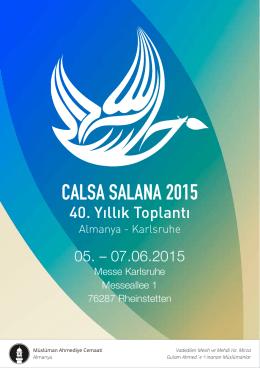 CALSA SALANA 2015