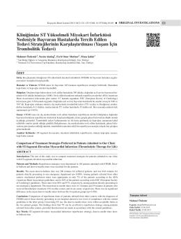 121-125 M Ozdemir.indd - Koşuyolu Heart Journal