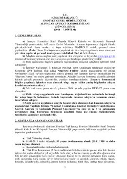 Kadrolu Avukat Alımı dosyasından