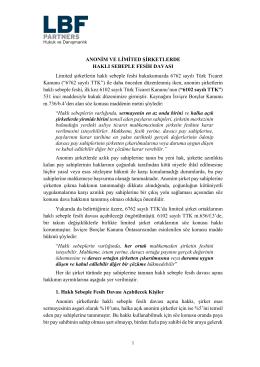 pdf новct - LBF Partners Hakkında Daha Fazla