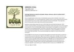 GREEN COAL