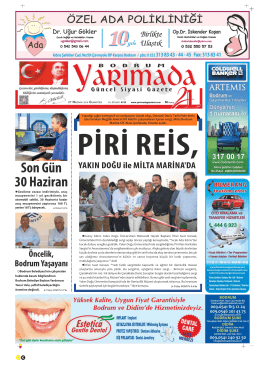 cumartesi - Yarımada Gazetesi