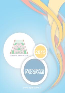 Performans 2015 - Isparta Belediyesi