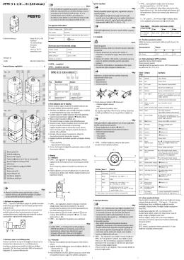 VPPE-3-1-1/8-...-E1 (LED ekran)