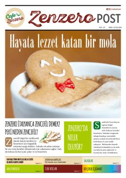 MENÜ - Cafe Zenzero