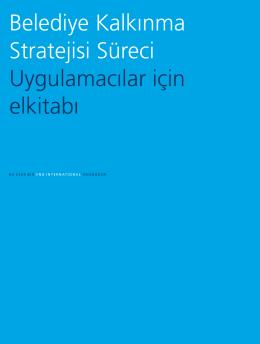 Belediye Kalkınma Stratejisi Süreci