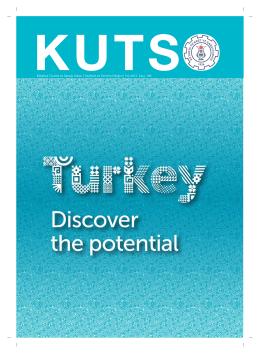 kutso dergi sayı 185 - Kütahya Ticaret ve Sanayi Odası