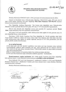 2015 yılı eylül ayı meclıs komısyon raporları