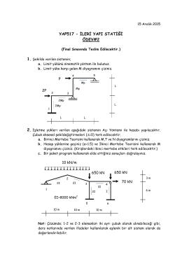 ileri yapı statiği ödev#2