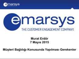 EMARSYS_Ülke Müdürü_Murat_Erdor - e