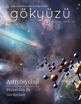 GÖKYÜZÜ – Sayı 60 – Ağustos 2015