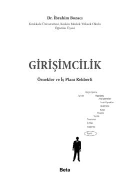 GİRİŞİMCİLİK - Beta Yayıncılık