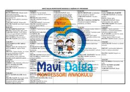 Haziran Programı