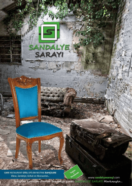 1980`de kurulan Dostlar Sandalye şimdi SANDALYE SARAYI