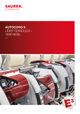 autocoro 9. lider teknoloji – yeni nesil.