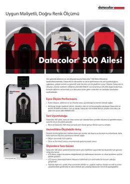 Datacolor® 500 Ailesi - Datacolor Industrial