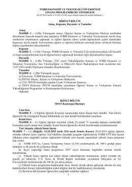 TOBB ETÜ - TOBB Ekonomi ve Teknoloji Üniversitesi